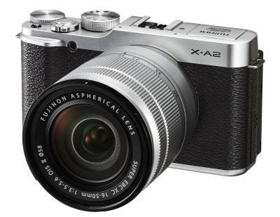 X-A2_Front_Right_Silver16-50mm